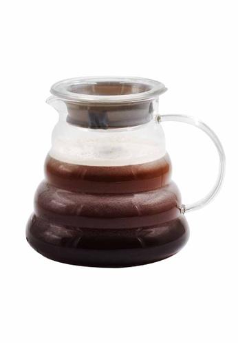 Slique grey Premium Borosilicate Glass Coffee Server 500ml D091CHLF7A73F6GS_1