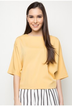 Rayon Quarter Sleeves Top