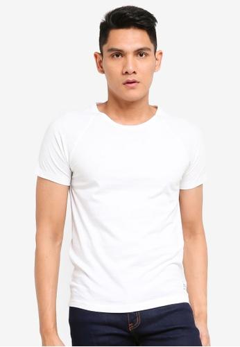 UniqTee white Eco Fabric T-Shirt CB7A5AA77F5097GS_1