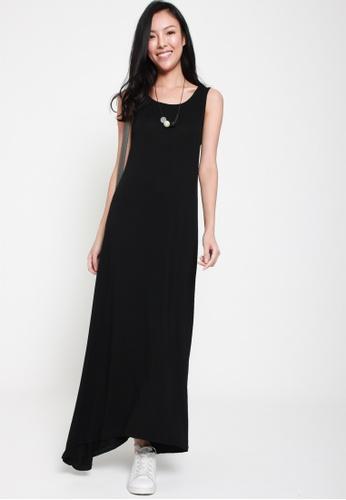 Sophialuv black Crossing The Line Sleeveless Maxi Dress in Black B82A1AAEC96FEFGS_1