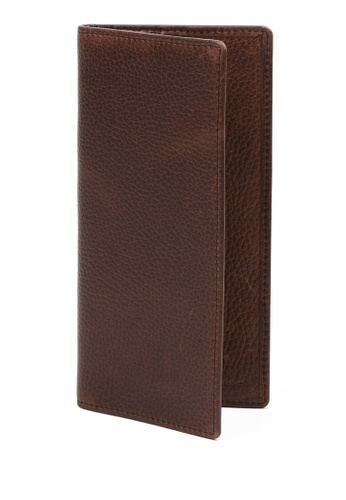 RABEANCO brown Bi-fold Long Wallet RA424AC58PXHHK_1