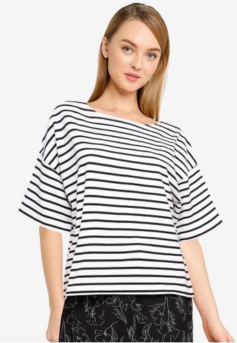 LOWRYS FARM white Stripe Top 2BD48AA1B17520GS_1