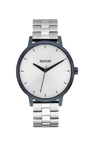 Nixon silver KENSINGTON NAVY/SILVER BCBB7AC3D8160EGS_1