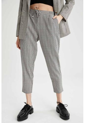 DeFacto beige Woman Woven Trouser B189FAA40D1AE8GS_1