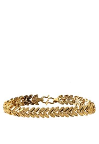 Megane gold Juwita Gold Plated Bracelet 27F68AC51A35A0GS_1