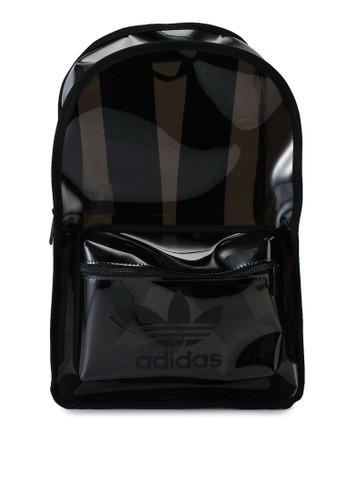 ADIDAS black transparent backpack 90877ACB88AE36GS_1