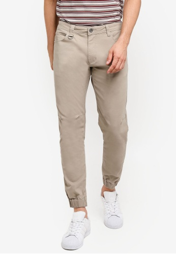 8eb5537ec01 Buy SPARROW GREEN Ike Slim Jogger Pants
