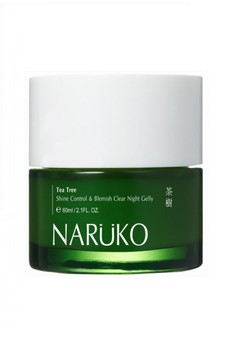 Tea Tree Shine Control & Blemish Clear Night Gelly 60g- Buy 2 Take 1 Limited time only Free 1x NRK Collagen Booster Firming Mask