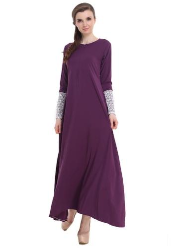 Amar Amran purple Jubah Hawa 24812AA0775F43GS_1