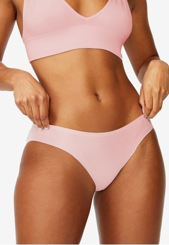 Cotton On Body 粉紅色 Party Pants Seamless Bikini Brief B8519USDA6DFE6GS_1