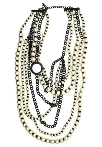 Istana Accessories white Kalung Keara Pearl Layer 41B0DACEF4627CGS_1