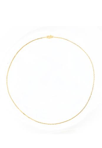 Buy Tomei Link Chain Tomei Yellow Gold 916 22k 9n Wz12 03 Online Zalora Malaysia