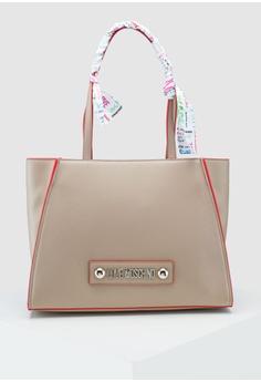 c1c0d035f0c Love Moschino beige Soft Grain Shoulder Bag EBCD4ACBDBFE97GS_1