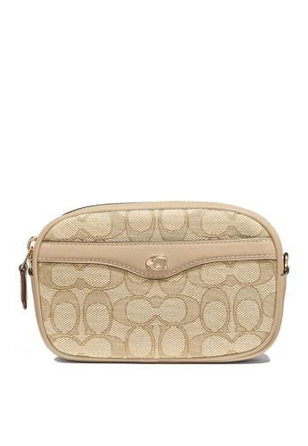 Coach brown Convertible Belt Bag (cv) 87AA2AC7661577GS_1
