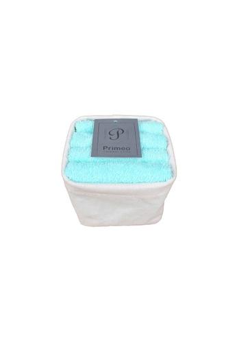 Primeo green Premium 1Aqua Hand Towel Set With Basket 300gsm Soft High Absorbent Beige Set of 4 4F631HLDCF947BGS_1