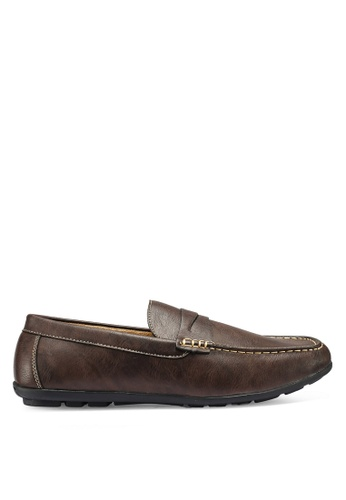 Bata brown Slip On Loafers E8102SH82935B2GS_1