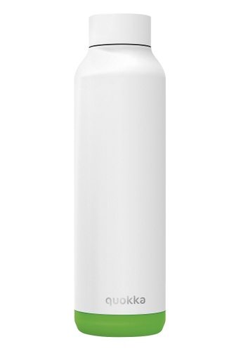 QUOKKA white and green QUOKKA STAINLESS STEEL BOTTLE SOLID LIME VIBE 630 ML 3343DACB58C4B6GS_1