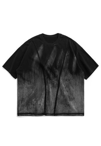Twenty Eight Shoes Oversize Wash Old Short T-shirt 1116S20 06932AA183A552GS_1