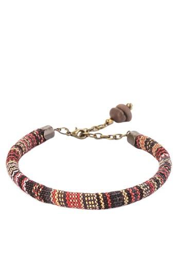 JOGLO AYU TENAN red Tenun Bracelet 30A72AC491C8ABGS_1
