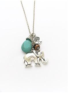 Elephant Safari Necklace