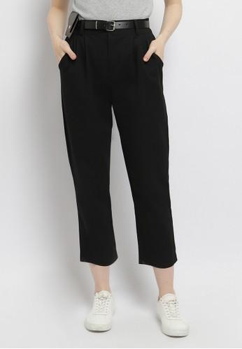 Just Out black Hanessa Wallet Pants C7A2AAAE1B4DA5GS_1