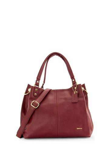 SEMBONIA purple SEMBONIA Synthetic Leather Hobo Bag (Dark Purple) 9A591AC7409547GS_1