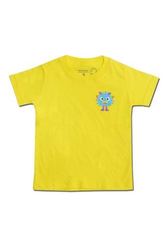 Pop Kidswear yellow Pop Kidswear Monster Squad Yellow Adult (Short Sleeves)Tee - kaos monster series BE191AA1FC8822GS_1