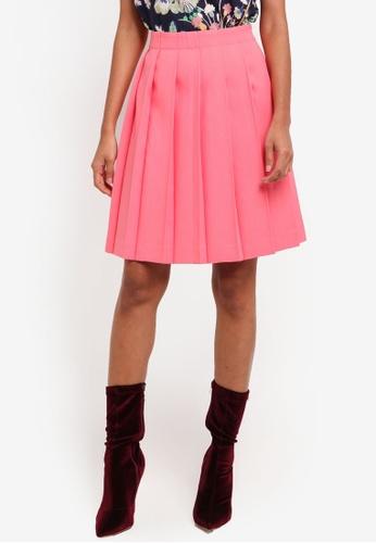 J.Crew pink Captain Kiki Utility Twill Skirt 7A8D8AAB187EE0GS_1