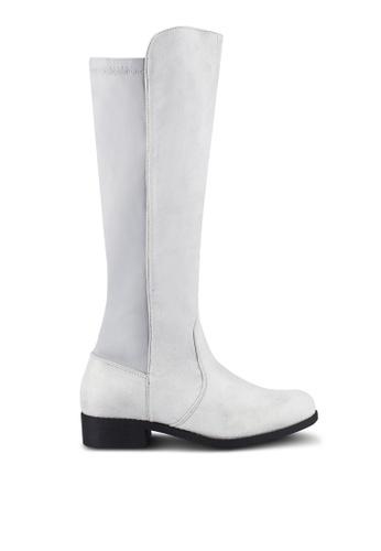 ZALORA grey Riding Boots 047F0ZZ2BC7A7EGS_1