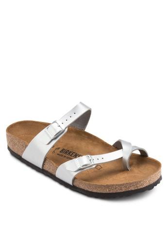 Mayari 交叉套zalora 鞋評價趾扣環拖鞋涼鞋, 女鞋, 鞋