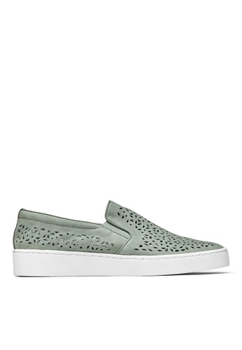 Vionic green Midi Perf Slip-On Sneaker 838EDSH08F9D83GS_1