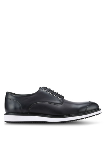 ZALORA black Contemporary Oxford Dress Shoes 9FAF0AAE9B7B97GS_1