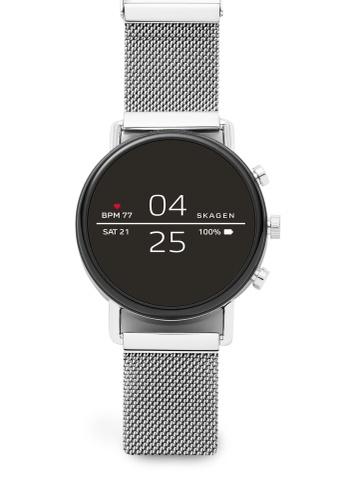 Skagen silver Falster 2 Touchscreen Smartwatch SKT5102 96666AC24B853BGS_1