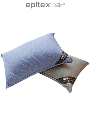 Epitex grey Epitex Urban Nott Cooling Pillow 1+1 Promo (2 for $79) D7D39HL2BCDB95GS_1