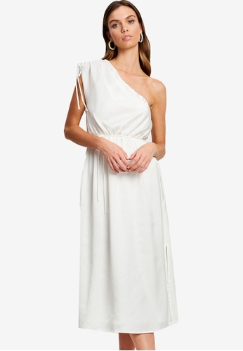 Chancery white Faith Midi Dress 05F28AA33AB93CGS_1