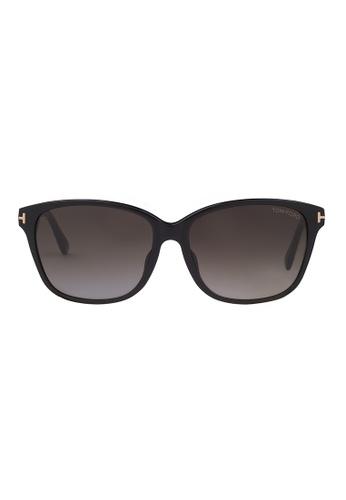 Tom Ford black TOM FORD Dana Sunglasses FT0432F 01B TO545AC68JITMY_1