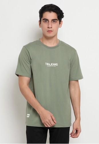 TIRAJEANS green T-SHIRT S/S 406DDAA485C76BGS_1