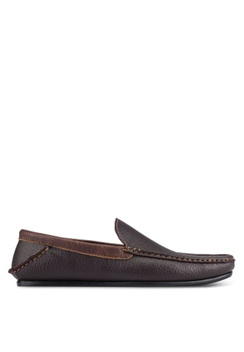 UniqTee brown Casual Loafers UN097SH0S211MY_1