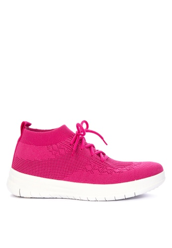 9766db2afe47 Shop Fitflop Uberknit Slip-On High Top Sneaker Online on ZALORA Philippines