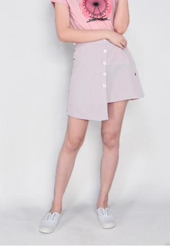 GatsuOne pink Yasamu Skirt 52DF0AA9C4C043GS_1