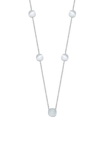 Morellato silver Gemma Necklace SAKK17 925 Silver Crystal Cat Eye B35C5AC67DA404GS_1