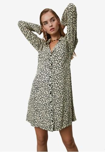 Trendyol multi Speckle Shirt Dress FAC11AAAD68C6EGS_1