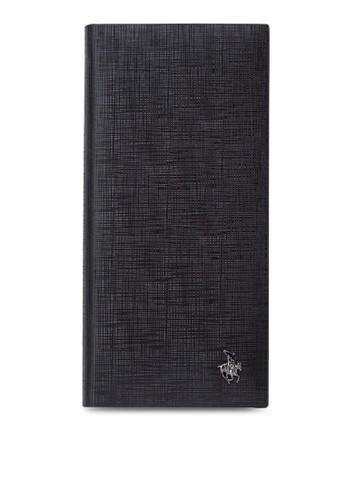 暗紋對折長夾, 飾品配esprit tw件, 非皮革
