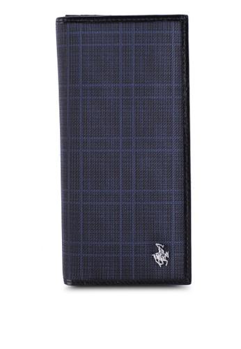Swiss Polo blue RFID Blocking Long Wallet 570BEAC0CB8209GS_1