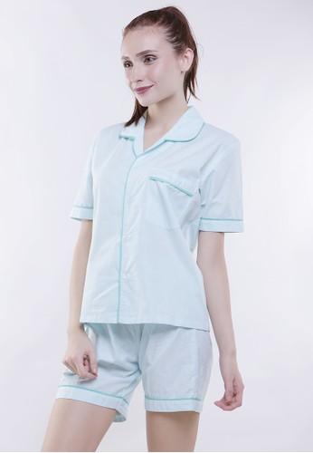 JOYFULIE green Anesha Short Pajamas 7B1E3AA98C95B4GS_1