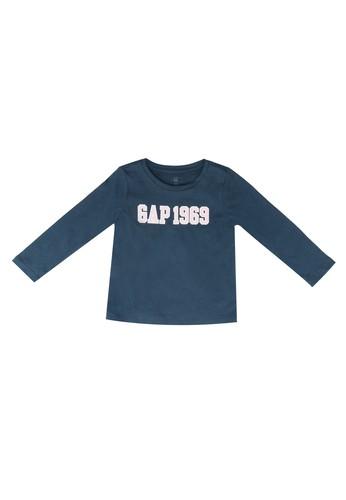 Gap blue Family Logo T-Shirt F1FBFKA842093CGS_1