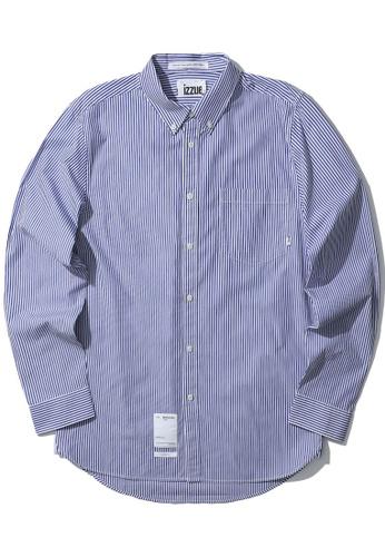 izzue blue Stripe shirt 5AC2DAA92409B9GS_1