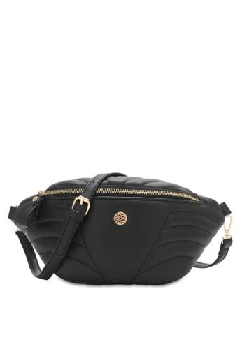 Wild Channel 黑色 Women's Belt Bag / Chest Bag / Crossbody Bag 48E72AC7D9DFAFGS_1
