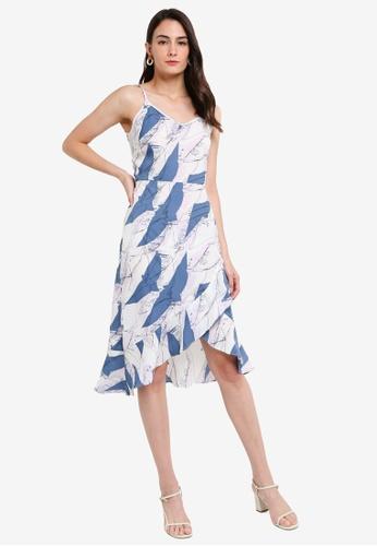 NWT Japna With Love Women/'s Asymmetrical Hem Shift-Beach  Dress Printed Size S