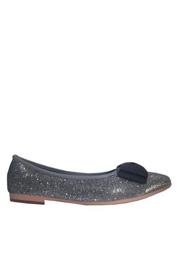 Twenty Eight Shoes grey Comfort 3D Bows Party Shoes VL90282 6682BSH0C1FE35GS_1